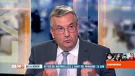 RTL INFO 19H : Coronavirus en Belgique: Pierre-Yves Jeholet évoque la reprise...