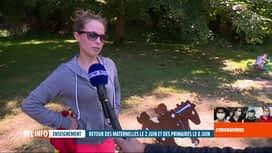 RTL INFO 19H : Coronavirus en Belgique: réactions des parents sur les retours à l'...