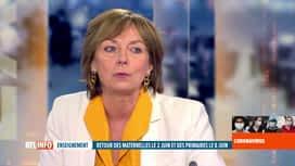 RTL INFO 19H : Coronavirus en Belgique: Frédérique Jacobs est l'invitée du RTLINFO