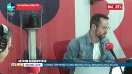 RTL INFO sur Bel RTL : RTL Info 8h du 29/05