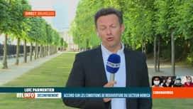 RTL INFO 19H : Coronavirus en Belgique: accord sur les modalités de réouverture da...