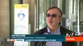 RTL INFO 19H : Coronavirus en Belgique: tous les indicateurs sont au vert