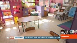 RTL INFO 19H : Coronavirus en Belgique: préavis de grève de la CGSP-Enseignement