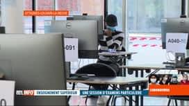 RTL INFO 19H : Coronavirus en Belgique: sessions d'examens inédites dans le supérieur