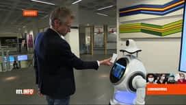 RTL INFO 19H : Coronavirus en Belgique: un robot vient en aide à l'hôpital d'Anvers