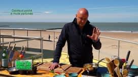 Martin Bonheur : Cabillaud poché à l'huile parfumée