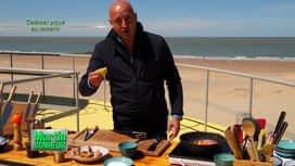 Martin Bonheur : Calamar romarin au barbecue