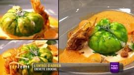 Top Chef : L'entrée d'Adrien