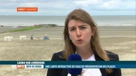 RTL INFO 13H : Début d'une saison touristique un peu spéciale à la Côte belge