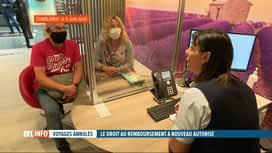 RTL INFO 13H : Obligation de remboursement désormais en cas d'annulation de son vol