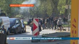 RTL INFO 13H : Emeutes à Anderlecht après la mort d'Adil: arrestation de 11 supects