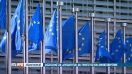 RTL INFO 13H : Ouverture des frontières: les Européens ne parviennent pas à un accord