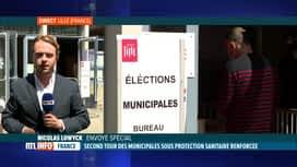 RTL INFO 13H : Deuxième tour des élections municipales en France