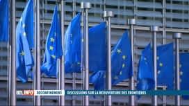 RTL INFO 19H : Ouverture des frontières: les Européens ne parviennent pas à un accord