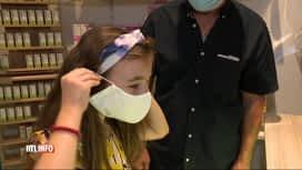RTL INFO 19H : Les masques gratuits ne rencontrent pas un grand succès en pharmacie