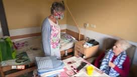 RTL INFO 19H : Coronavirus: les visites à nouveau autorisées en maison de repos