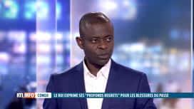 RTL INFO 13H : Lettre du roi Philippe au Congo: l'avis de Dieudonné Wamu Oyatambwe