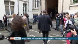 RTL INFO 13H : Une plaque commémorative pour l'anniversaire de l'indépendance du C...