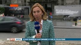 """RTL INFO 13H : Le faux taximan """"serial violeur"""" de l'ULB condamné à 12 ans de prison"""