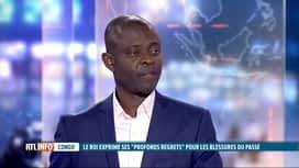 RTL INFO 19H : Lettre du roi Philippe au Congo: l'avis de Dieudonné Wamu Oyatambwe