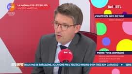 L'invité de 7h50 : Pierre-Yves Dermagne, ministre wallon des pouvoirs locaux.
