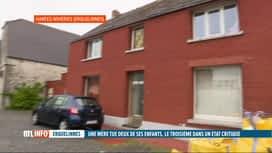 RTL INFO 13H : Une mère de famille tue ses deux enfants à Hantes-Wihéries...