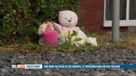 RTL INFO 13H : Double infanticide à Erquelinnes: la consternation chez les voisins