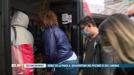RTL INFO 13H : Déconfinement: plus de limitation de passagers dans les bus des TEC