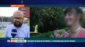 RTL INFO 19H : Double infanticide à Erquelinnes: le point sur place avec Benjamin ...