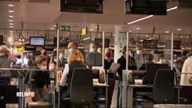 RTL INFO 19H : Départs en vacances: Brussels Airport a accueilli 10 000 passagers ...