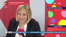 La matinale Bel RTL : Eliane Tillieux, députée socialiste