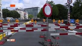 RTL INFO 13H : Bruxelles : la petite ceinture paralysée par plusieurs travaux