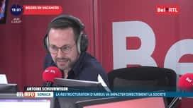 RTL INFO sur Bel RTL : RTL Info 13h du 02/07