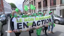 RTL INFO 19H : Le non-marchand manifestait ce jeudi à Mons