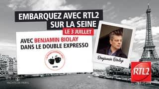 Benjamin Biolay en live et en interview dans la dernière du Double Expresso (03/07/20)