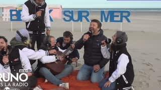 Bruno dans la radio à Berck-sur-Mer