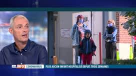 RTL INFO 13H : Coronavirus: le point sur l'impact de la réouverture des écoles