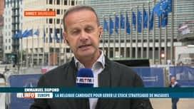 RTL INFO 13H : Coronavirus: la Belgique va-t-elle gérer les stocks de masques de...