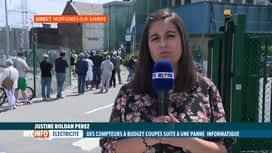 RTL INFO 13H : Les bureaux d'Orès sont débordés suite à un important dysfonctionne...