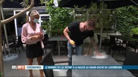 RTL INFO 19H : Coronavirus: le premier ministre luxembourgeois durcit le ton