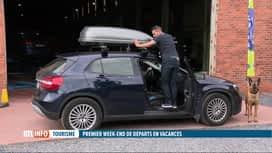 RTL INFO 13H : Vacances: l'art de choisir et placer un coffre de toit sur votre vo...