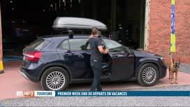 RTL INFO 19H : Vacances: conseils pour choisir et placer un coffre de toit sur la ...