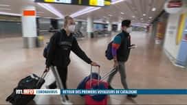 RTL INFO 13H : Reconfinement en Catalogne: les touristes belges doivent se faire t...
