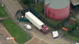 RTL INFO 13H : Migrants décédés dans un camion en 2019: la Belgique mise en cause