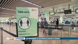 RTL INFO 19H : Coronavirus: les voyages maintenus vers l'Espagne malgré le reconfi...