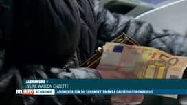 RTL INFO 19H : Coronavirus: certains ménages sont maintenant surendettés