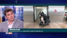 RTL INFO 19H : Coronavirus: l'avis de Simon Dellicour sur les voyages et le déconf...