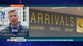 RTL INFO 13H : Coronavirus: test et quarantaine pour les touristes revenant des zo...