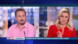 RTL INFO 13H : Coronavirus et vacances: le docteur Philippe Devos est en direct