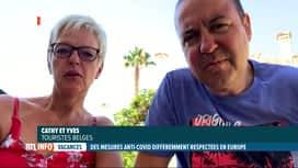 RTL INFO 13H : Coronavirus: les touristes belges à l'étranger témoignent de la sit...